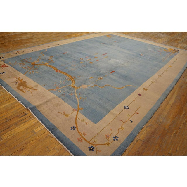 """Art Deco Antique Chinese Art Deco Rug 12'0"""" X17'6"""" For Sale - Image 3 of 9"""