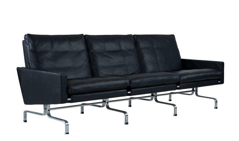 Poul Kjærholm PK31 Three-Seat Sofa by Fritz Hansen - Image 2 of 8  sc 1 st  Decaso & Superior Poul Kjærholm PK31 Three-Seat Sofa by Fritz Hansen | DECASO