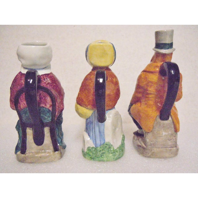Cottage Wood & Sons England Dickens Character Pitchers - Set of 3 For Sale - Image 3 of 8