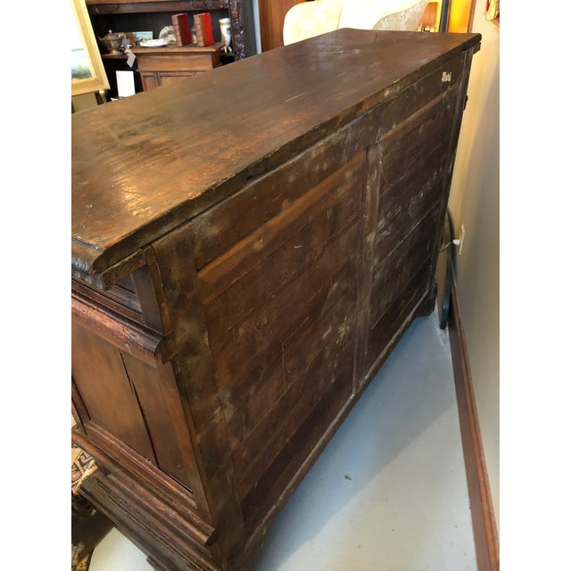 19th Century Renaissance Revival Hand Carved Cabinet For Sale - Image 12 of 13