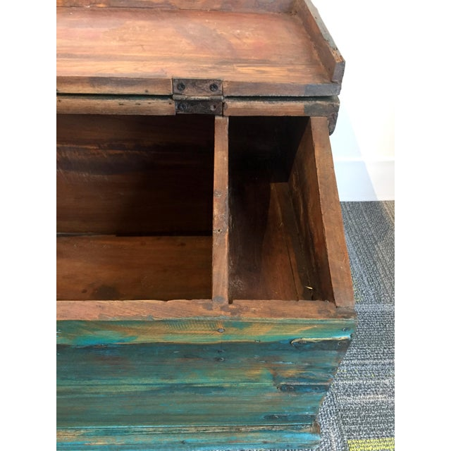 Children's Antique Child's School Desk Box For Sale - Image 3 of 7