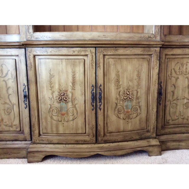 Brown Media Entertainment Credenza by Hooker (Seven Sea's) For Sale - Image 8 of 12