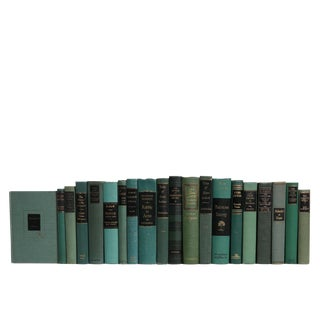 Vintage Book Set: Emerald & Onyx For Sale