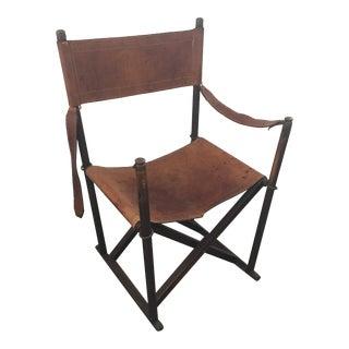 Mogens Koch Style Folding Chair For Sale