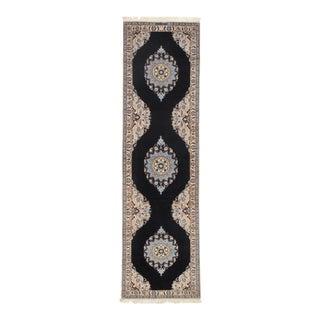 "Persian Pasargad N Y Nain Silk & Wool Rug - 2'6"" X 9'1"""