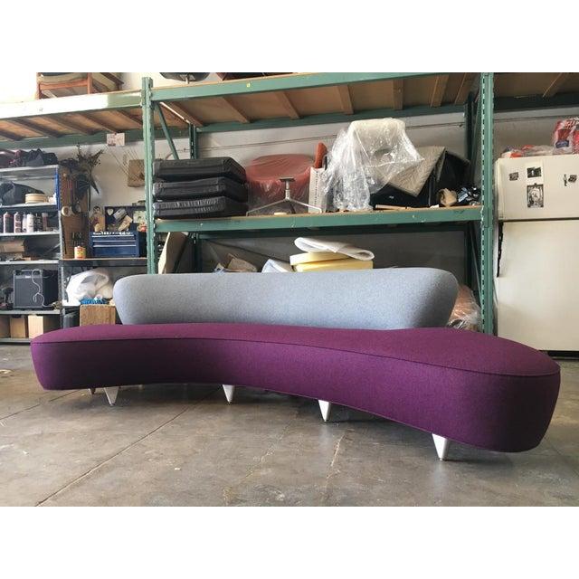 Vladimir Kagan Serpentine Sofa For Sale - Image 11 of 11