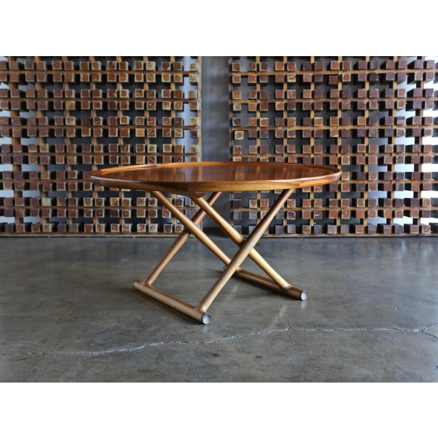 Large Egyptian Table by Mogens Lassen for A.J. Iversen Circa 1955 For Sale - Image 13 of 13