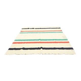 Hudson Bay Vintage 4 Point Wool Camp Blanket