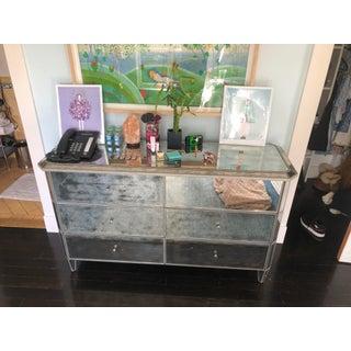 Restoration Hardware Mirrored Dresser Preview