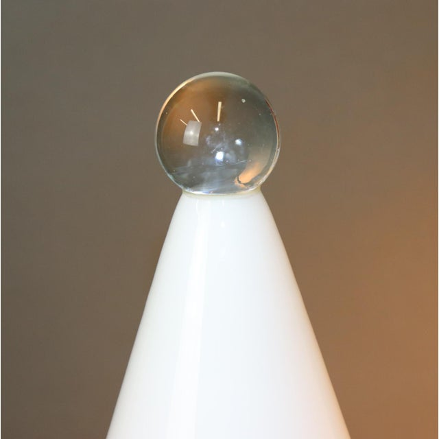 Mid-Century Modern Murano Glass Table Lamp For Sale - Image 11 of 13