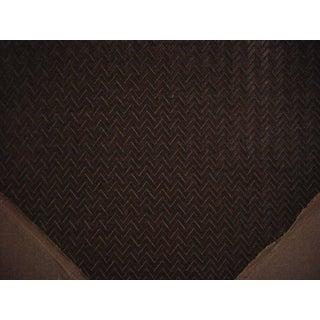 Kravet Couture Chevron Panne Mink Velvet Drapery Upholstery Fabric - 4.25 Yards For Sale