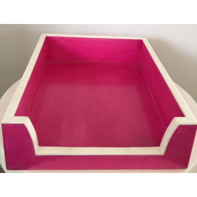 Hot Pink Paper Tray - Image 2 of 5