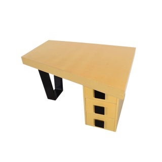 Gilbert Rohde Asymmetrical Desk For Sale