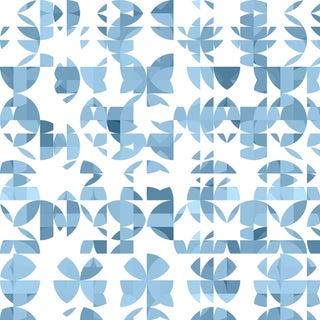 Botanica 'Haworthia' Metallic Grass Cloth Wallpaper Roll For Sale