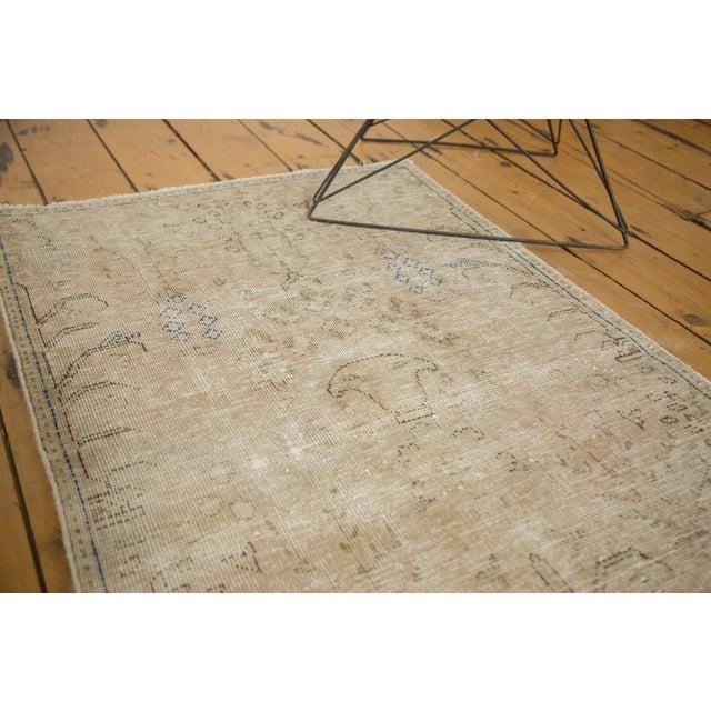 "Textile Vintage Distressed Meshed Rug - 2'5"" X 4'3"" For Sale - Image 7 of 10"