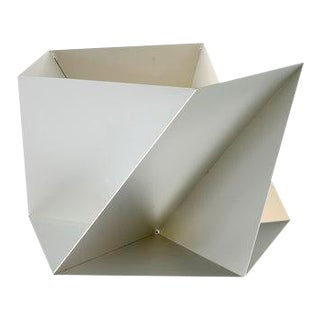 Silver Pentagami Planter For Sale
