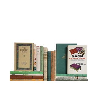 Sew and So Much More : Decorative Book Set of Seventeen Books For Sale