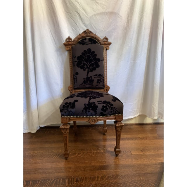 How man sets of 12 perfectly restored dining chairs do you see? not many! These Renaissance Revival chairs cam out of a...