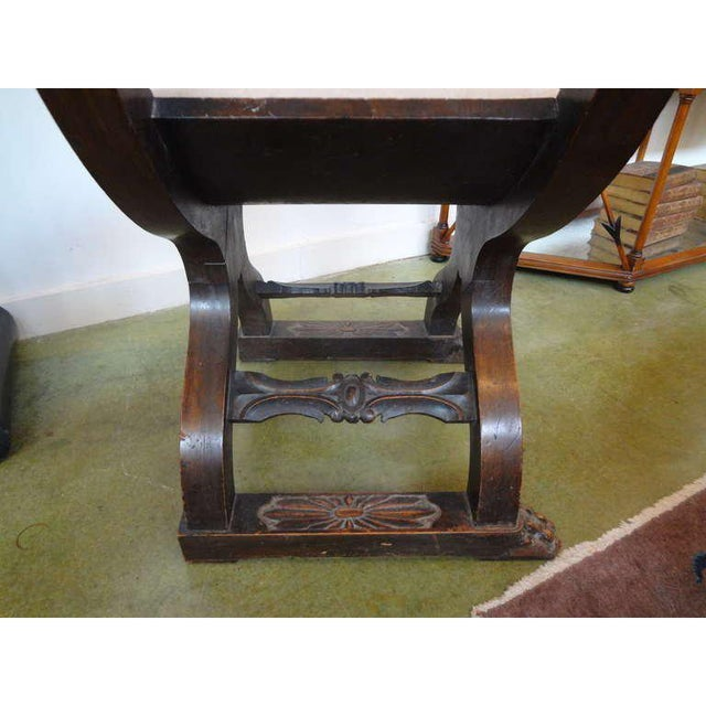 19th Century Continental Renaissance Style Carved Chair For Sale In Houston - Image 6 of 9