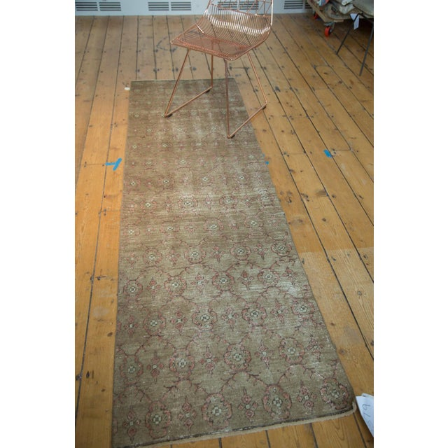 "Vintage Turkish Konya Runner - 2'6"" x 8'5"" For Sale - Image 5 of 8"