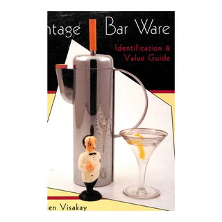 """Vintage Bar Ware: Identification & Value Guide"" Book"
