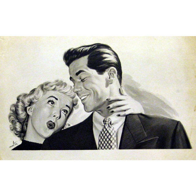 1950's Illustration Giclee Print on Archival Paper - Image 2 of 2