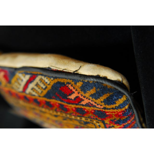 Oversized Turkish Rug Pillows - A Pair - Image 4 of 6