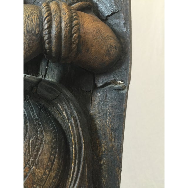 Indonesian Wood Carving on Stand - Image 8 of 11