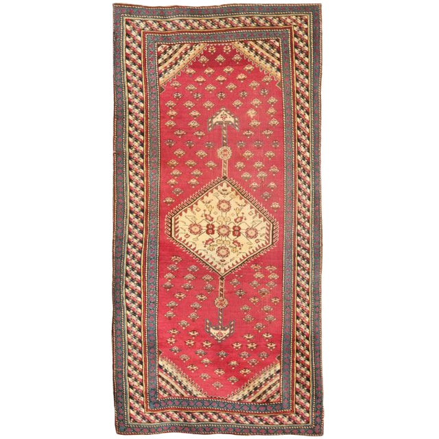 Antique 19th Century Caucasian Karabagh Rug For Sale