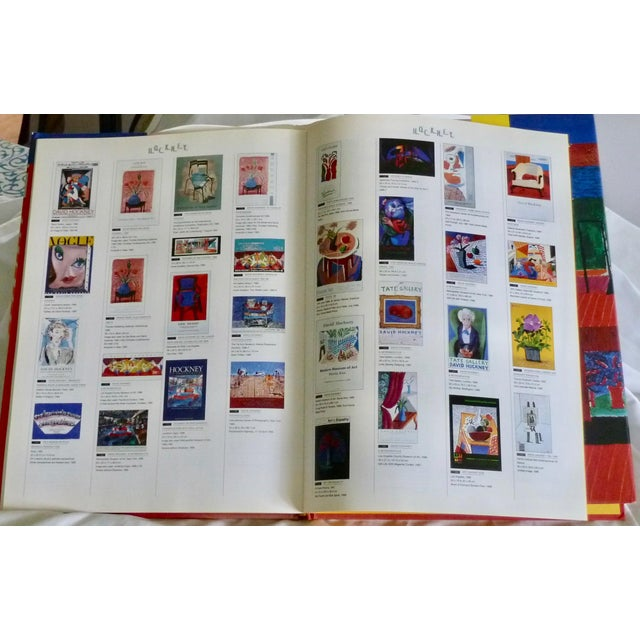 David Hockney: Poster Art Book by Brian Baggot For Sale - Image 4 of 8