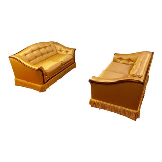 Hollywood Regency Loveseats - a Pair For Sale