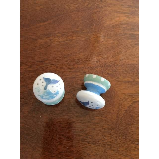 Whale Tail Cabinet Knobs - A Pair - Image 2 of 4