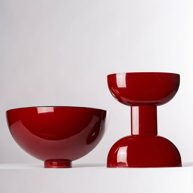 "Modern ""Kon Kao"" Silver Plated Centerpiece by Lino Sabattini For Sale - Image 3 of 7"