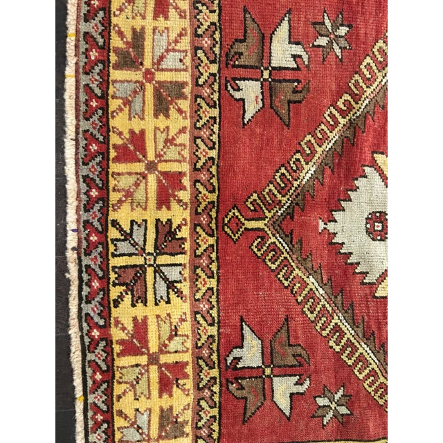 "Bellwether Rugs Vintage Turkish Oushak Runner - 5'x11'3"" - Image 3 of 8"