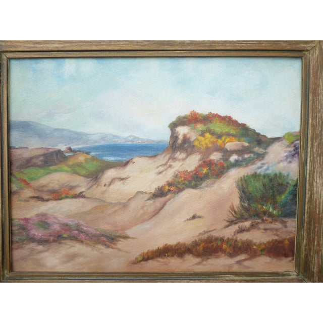"""Two Vintage """"Mantaña De Oro State Park"""" Signed Oil Painting Pictures Gorgeous Pictures in Great Vintage Condition. Wear is..."""