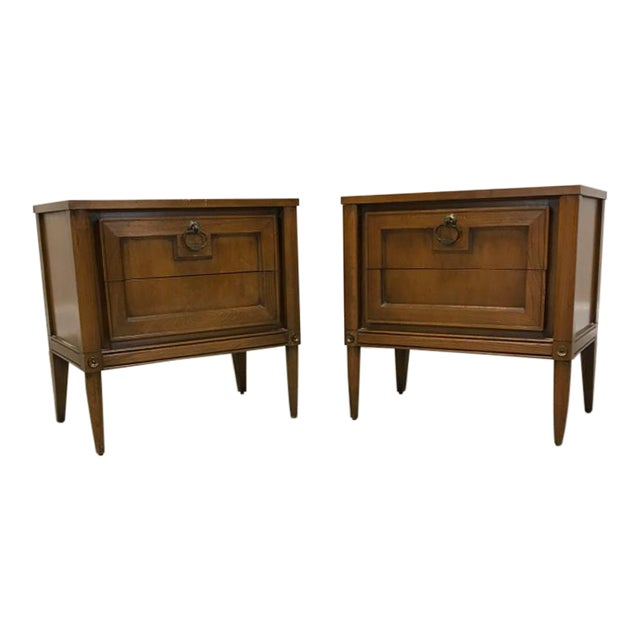 Basic Witz Mid Century Nightstands - a Pair - Image 1 of 11