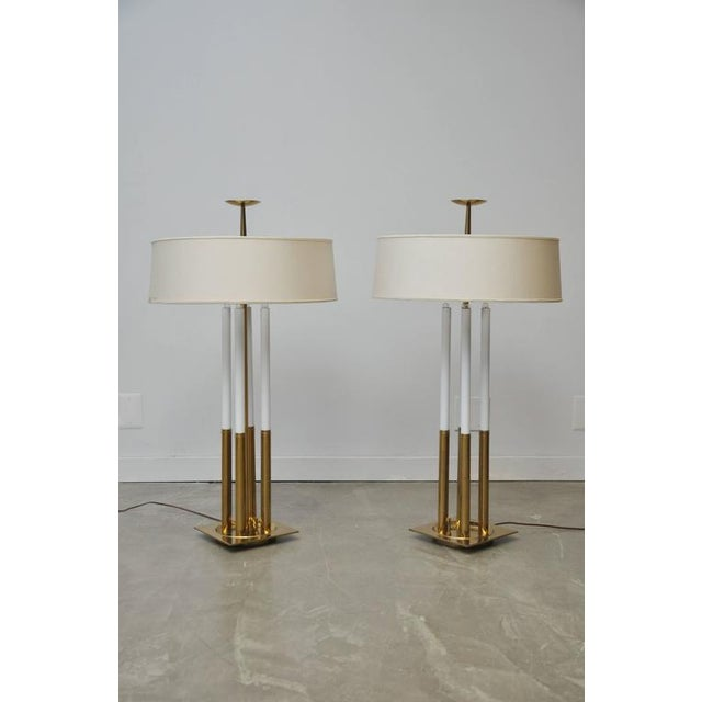 Excellent tommi parzinger for stiffel brass table lamps decaso tommi parzinger for stiffel brass table lamps image 2 of 6 aloadofball Choice Image