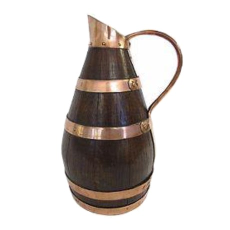 Antique English Arts & Crafts Cider Ale Jug - Image 1 of 2