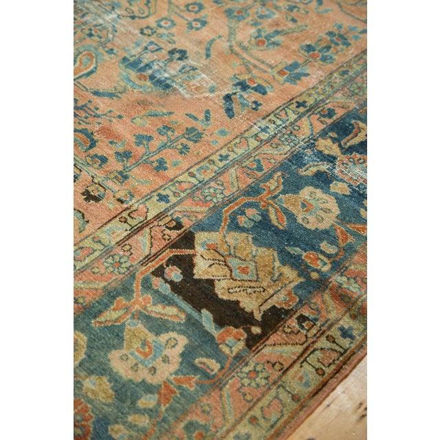 "Antique Distressed Lilihan Carpet - 9' x 11'1"" - Image 9 of 10"