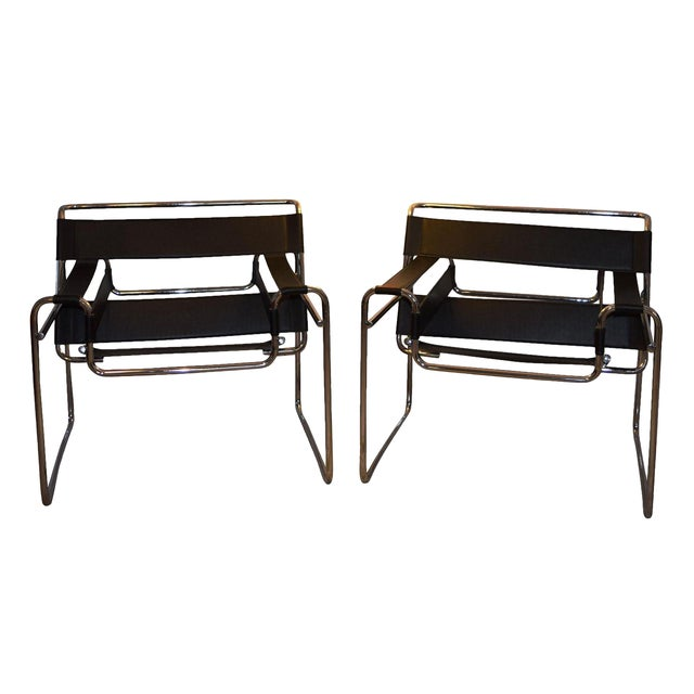 Stendig Wassily Chairs - A Pair - Image 1 of 7
