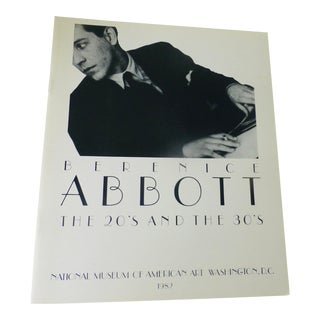 1982 Berenice Abbott, the 20s and the 30s, Catalog of Photos Book For Sale