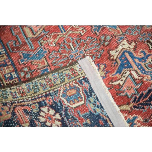 "Vintage Heriz Carpet - 7'6"" X 11'1"" - Image 5 of 10"