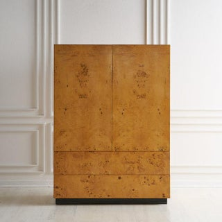 Olive Burlwood Armoire by Dillingham Furniture Preview