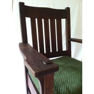 Antique Mission Arm Chair Jm Young 1910's Preview