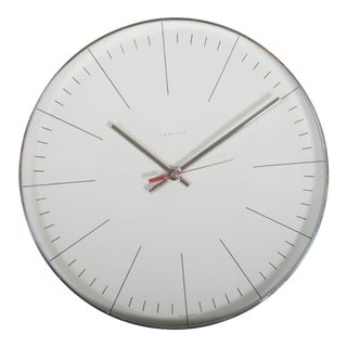 Mid-Century Wall Clock by Junghans For Sale