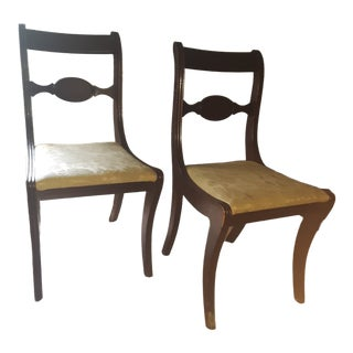 Vintage Side Chairs - a Pair For Sale