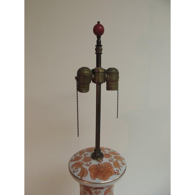 Imari Floral Porcelain Tall Table Lamp - Image 3 of 7
