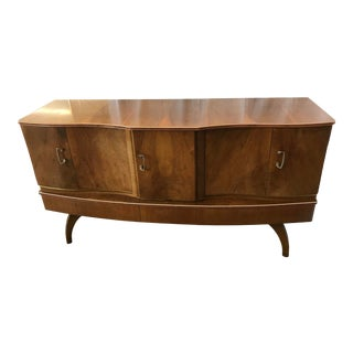 Beautility Art Deco Cocktail Sideboard Dry Bar For Sale