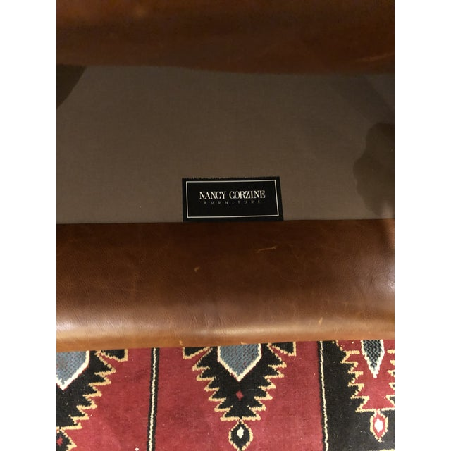 Nancy Corzine Club Chairs -A Pair For Sale - Image 10 of 11
