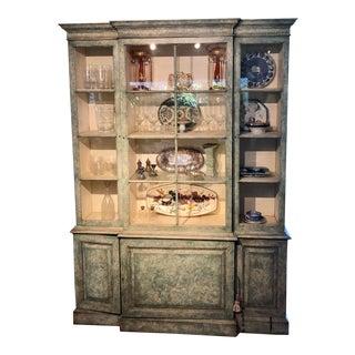 1970s Vintage Kindel China Cabinet For Sale
